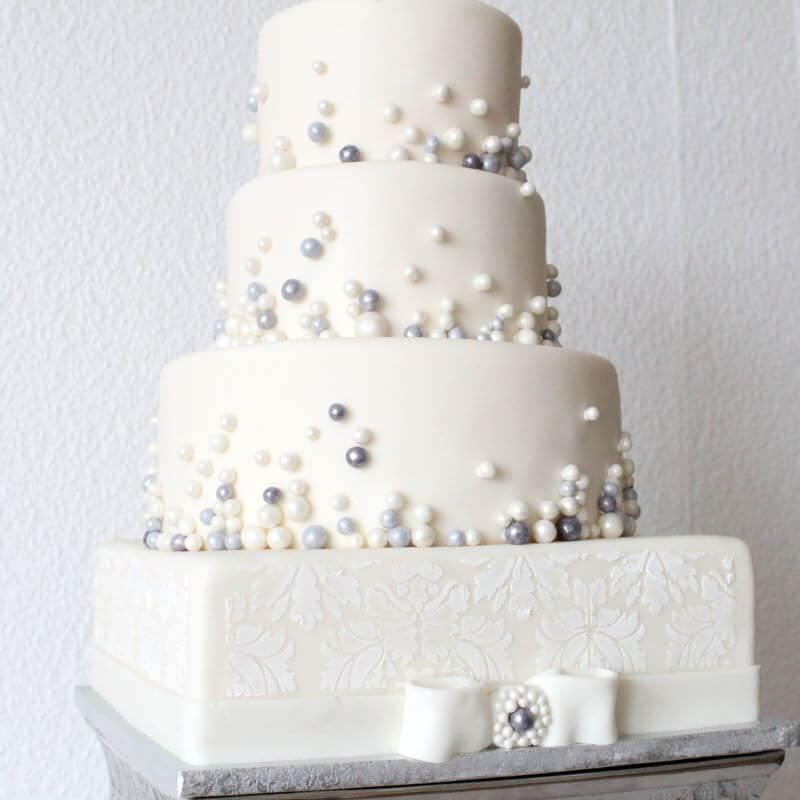 Perlen Hochzeitstorte Haus Brink