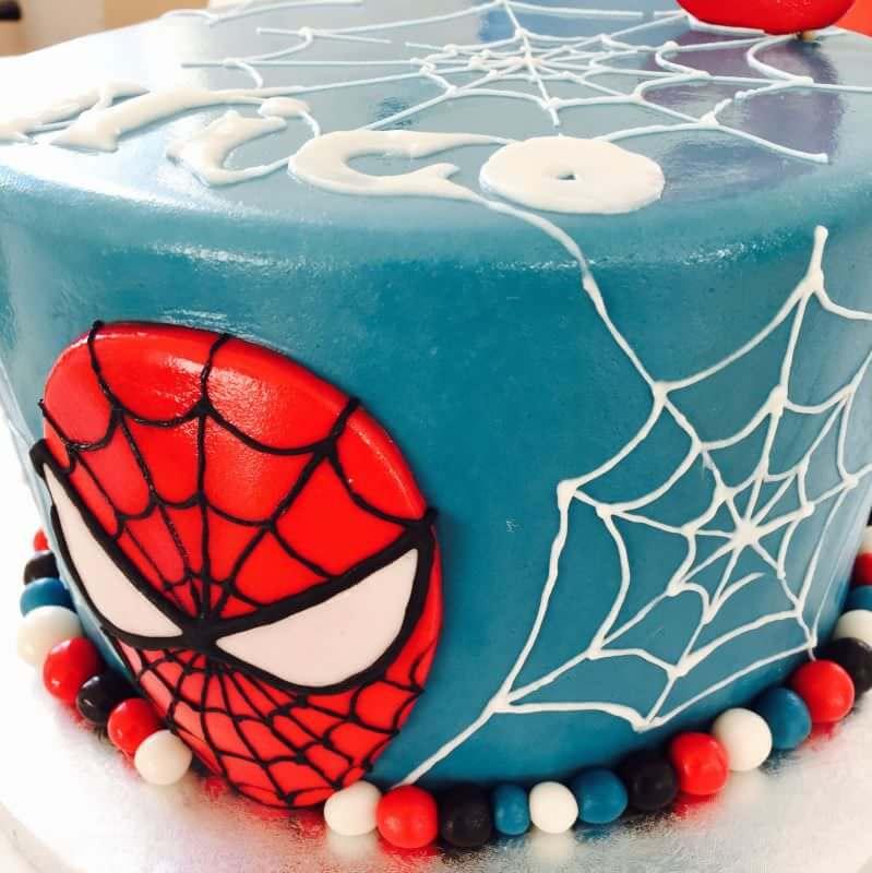 Spider Man Torte Haus Brink